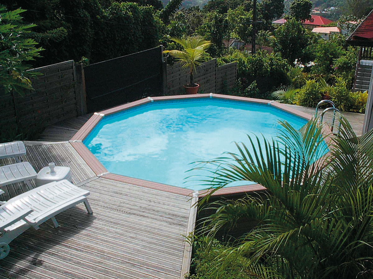 Piscine semi enterr e de r ve for Piscine bois semi enterree prix