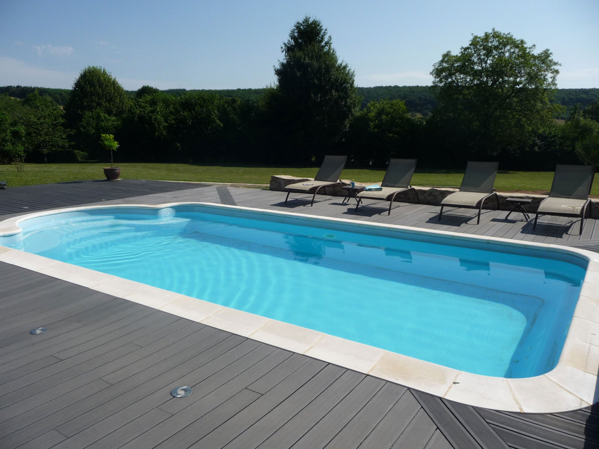 Nos r alisations piscines cl ment for Piscine terrasse mobile video